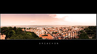 Photo panoramique d'Arcachon