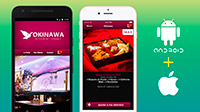 Application mobile iOS et Android du Restaurant Okinawa (Cestas)